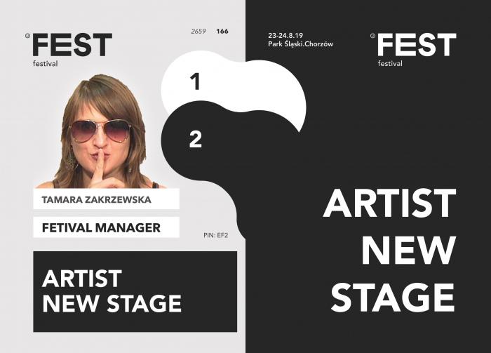 Identyfikator - FEST Festival 2019
