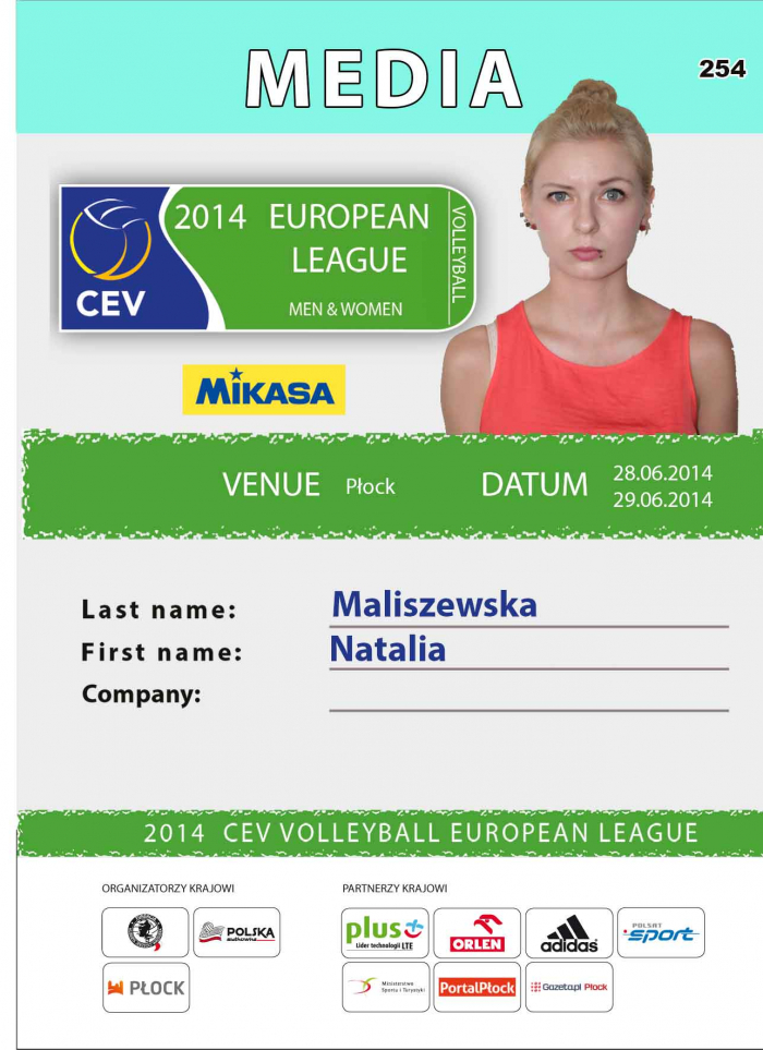 2014 European League Women
