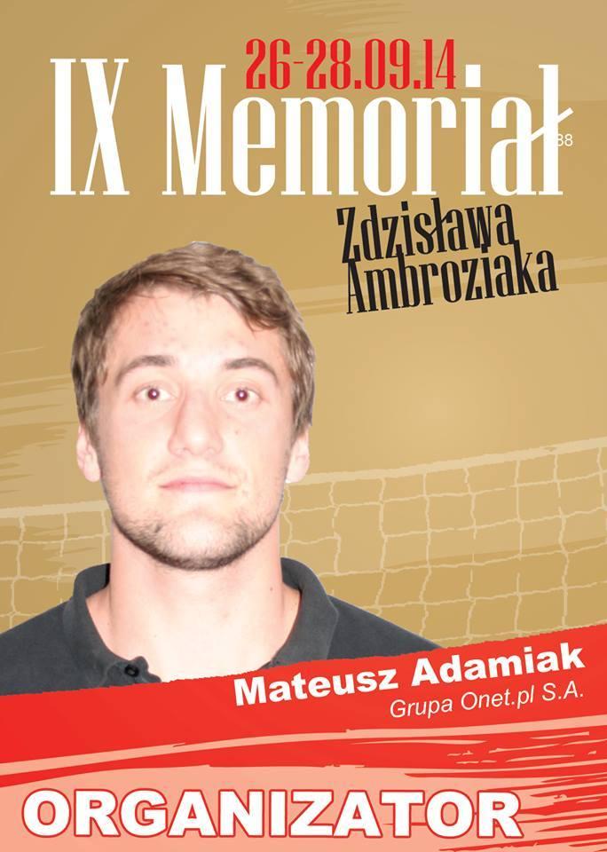 IX Zdzisław Ambroziak's Memorial