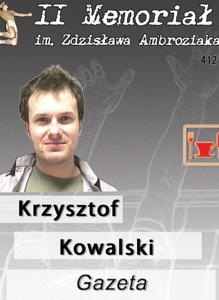 II Zdzisław Ambroziak's Memorial