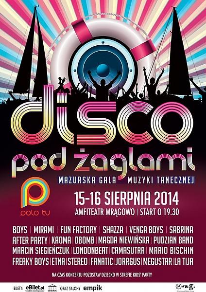 Festiwal Disco Pod Żaglami - Mrągowo